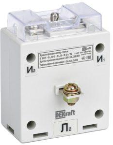 Новые измерительные трансформаторы тока от DEKraft