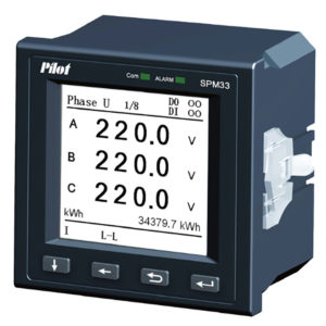 Анализатор электроэнергии SPM33.