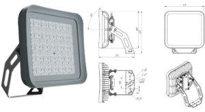 Новый прожектор-«кососвет» от FEREKS - диоды на керамической подложке